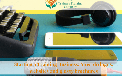 Starting a Training Business: Must do logos, websites and glossy brochures