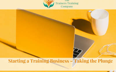 Starting a Training Business – Taking the Plunge