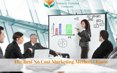 The Best No Cost Marketing Method I Know