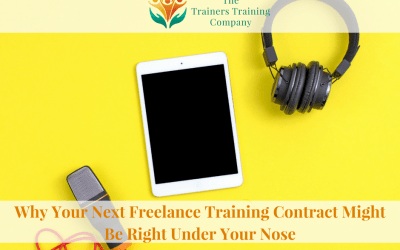 Why Your Next Freelance Training Contract Might Be Right Under Your Nose