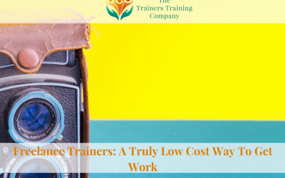 Freelance Trainers: A Truly Low Cost Way To Get Work