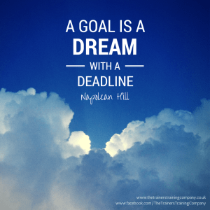 Goal setting quote
