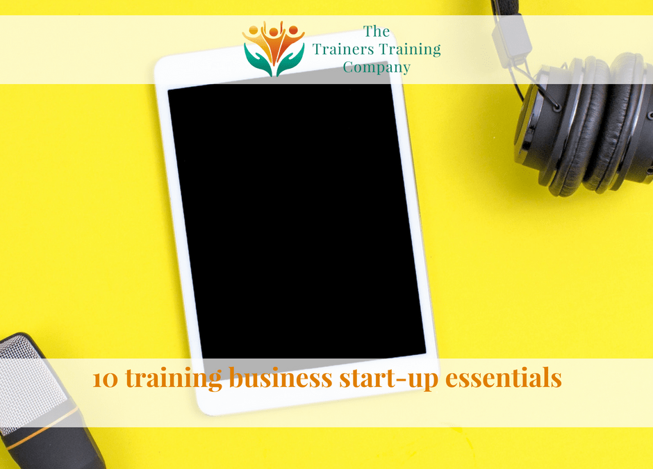 10 training business start-up essentials