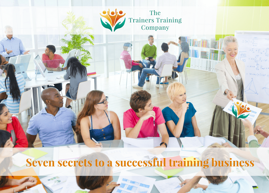 Seven secrets to a successful training business