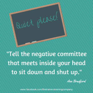 Tell the negative committee quote