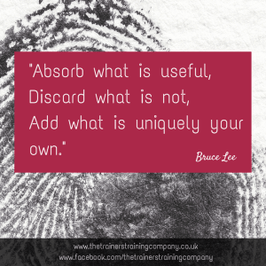 Absorb what is useful quote