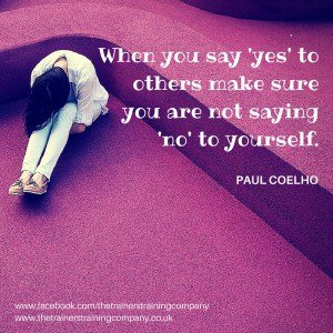 Quote about saying no sometimes
