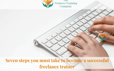 Seven traits of a successful freelance trainer