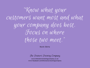 Know what your customers want most quote