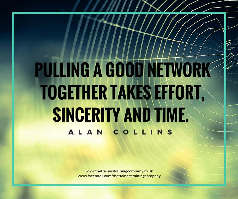 Pulling a good network together quote