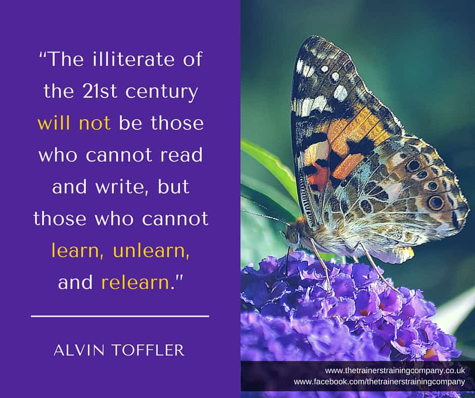 Quote about the need for learning in 21st century workforce