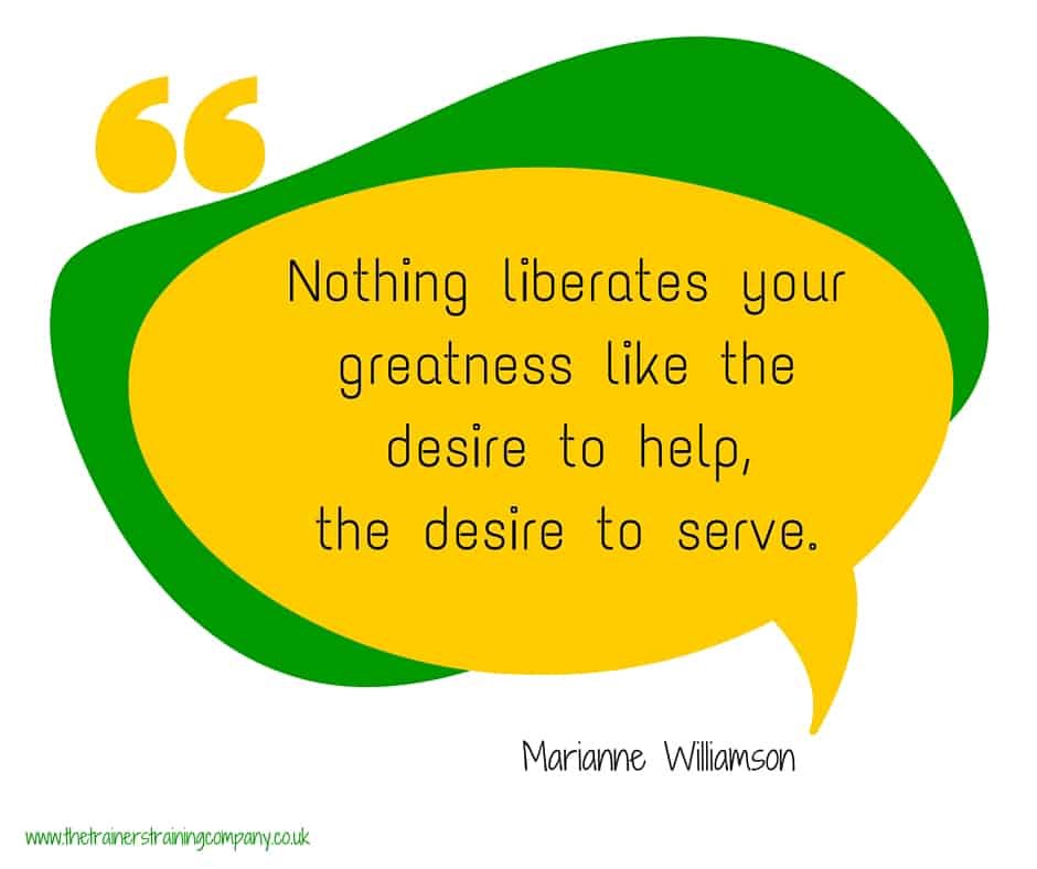 Quote about the desire to help others