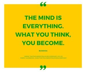 The mind is everything. What you think, you become. Quote by Buddha.