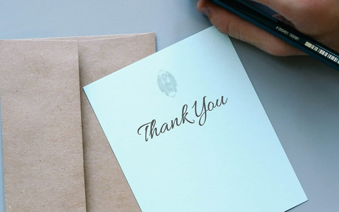 Eight ways to say thank you to your clients