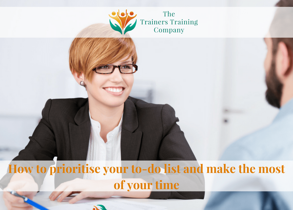 How to prioritise your to-do list and make the most of your time