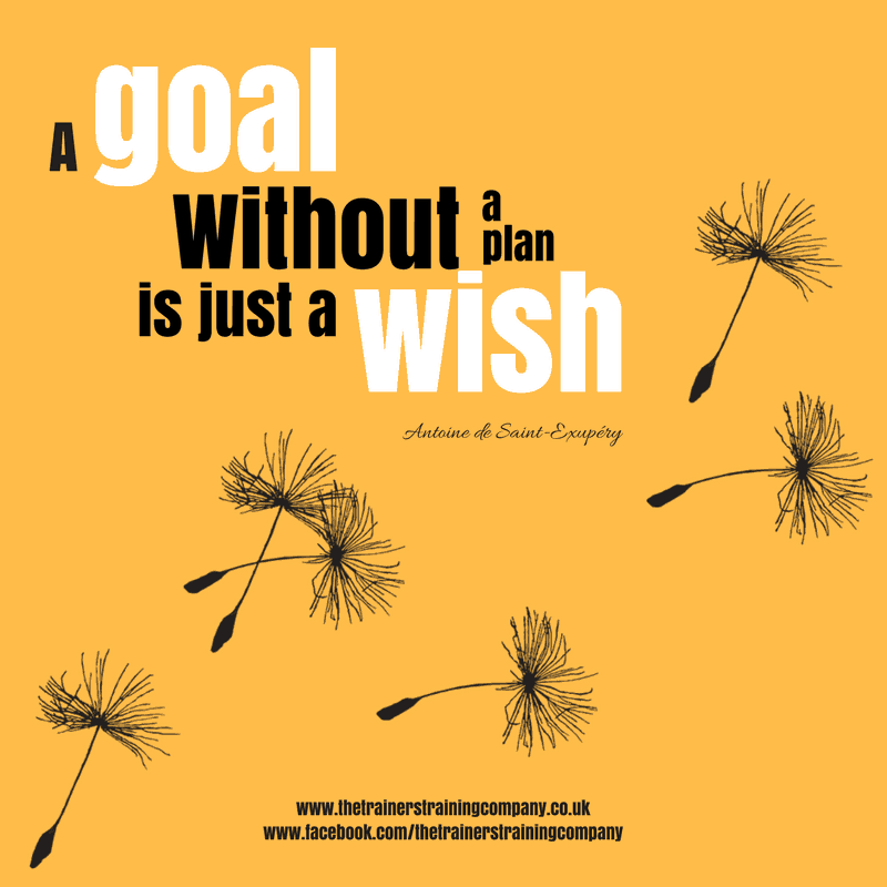 A goal without a plan is just a wish. Quote by Antoine de Saint-Exupéry