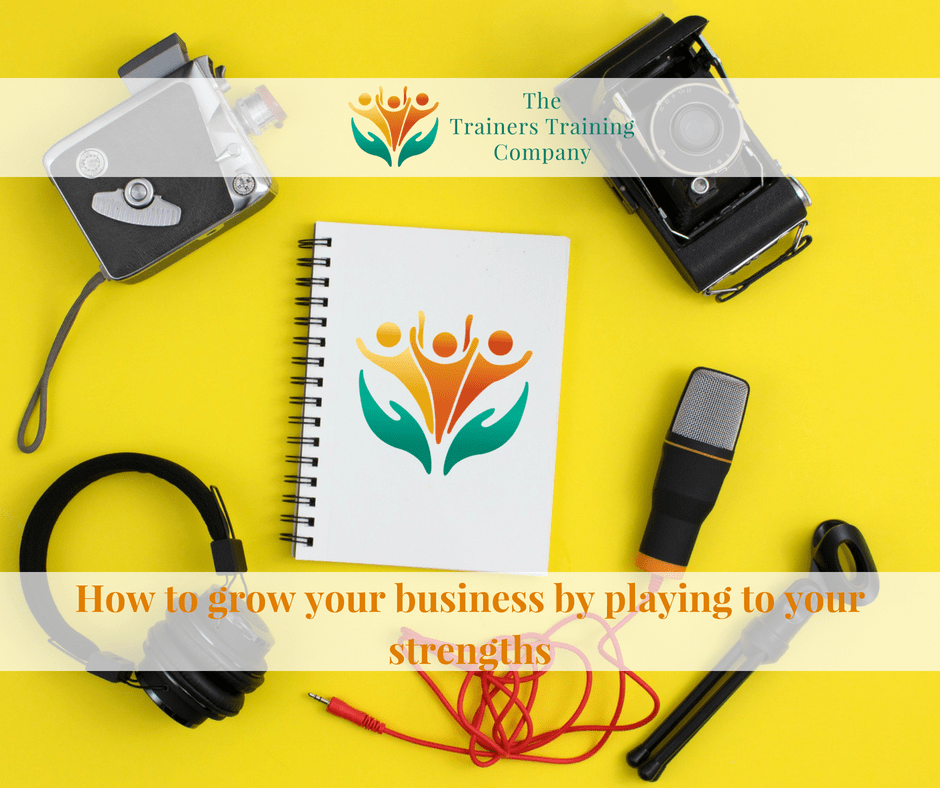 How to grow your business by playing to your strengths
