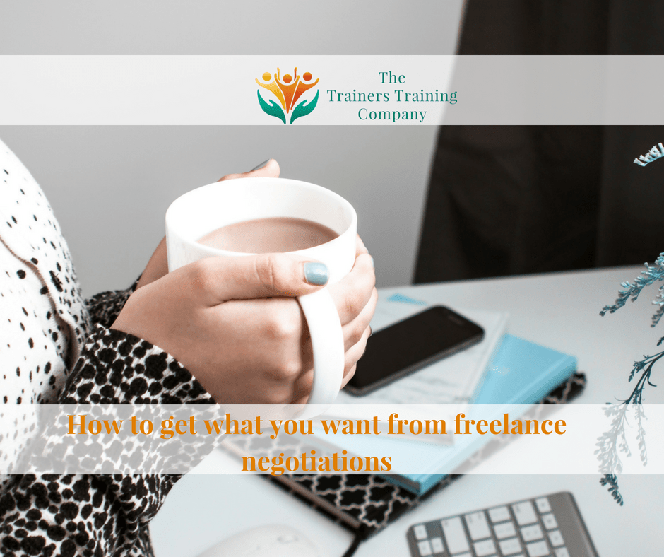 How to get what you want from freelance negotiations