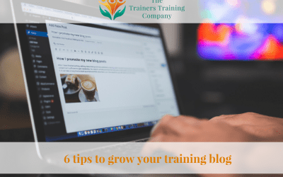 6 tips to grow your training blog