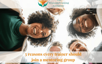 5 reasons every trainer should join a mentoring group