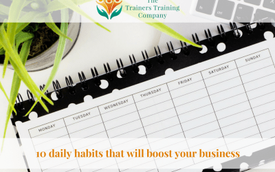 10 daily habits that will boost your business