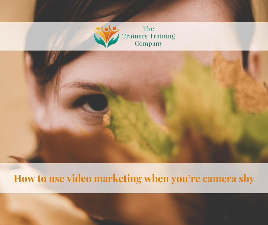 How to use video marketing when you're camera shy