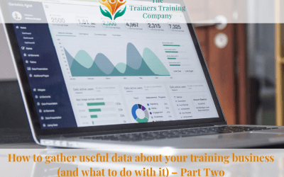 How to gather useful data about your training business (and what to do with it) – Part Two