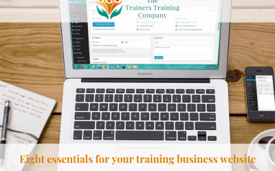 Eight essentials for your training business website