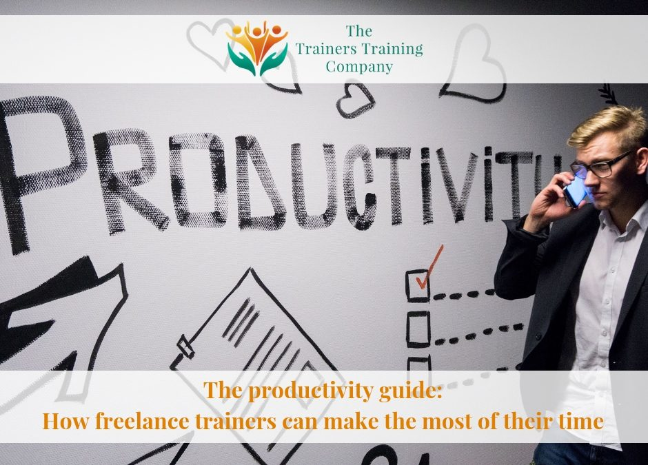 The productivity guide: How freelance trainers can make the most of their time