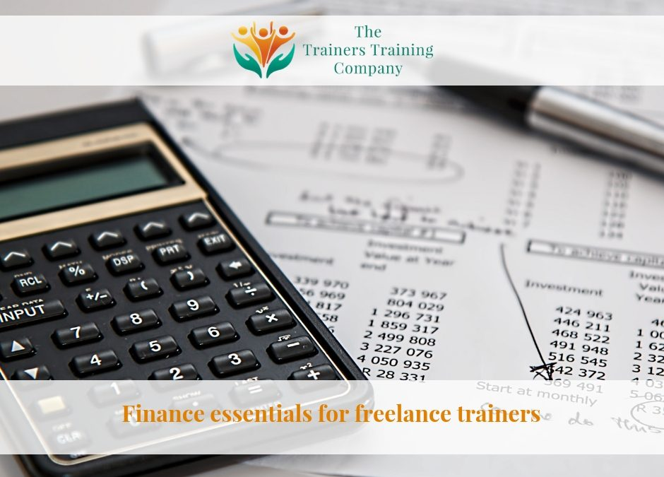 Finance essentials for freelance trainers