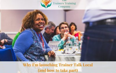 Why I'm launching Trainer Talk Local (and how to take part)