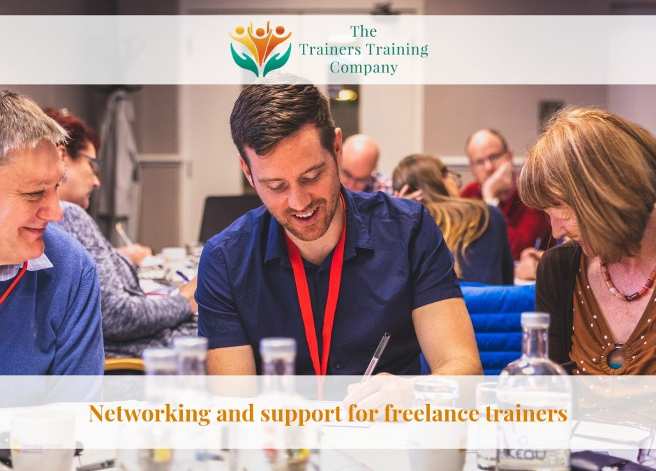 Networking and support for freelance trainers