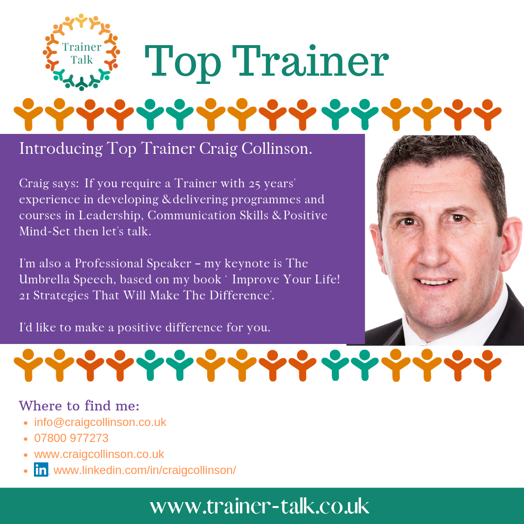 Top Trainer Craig Collinson