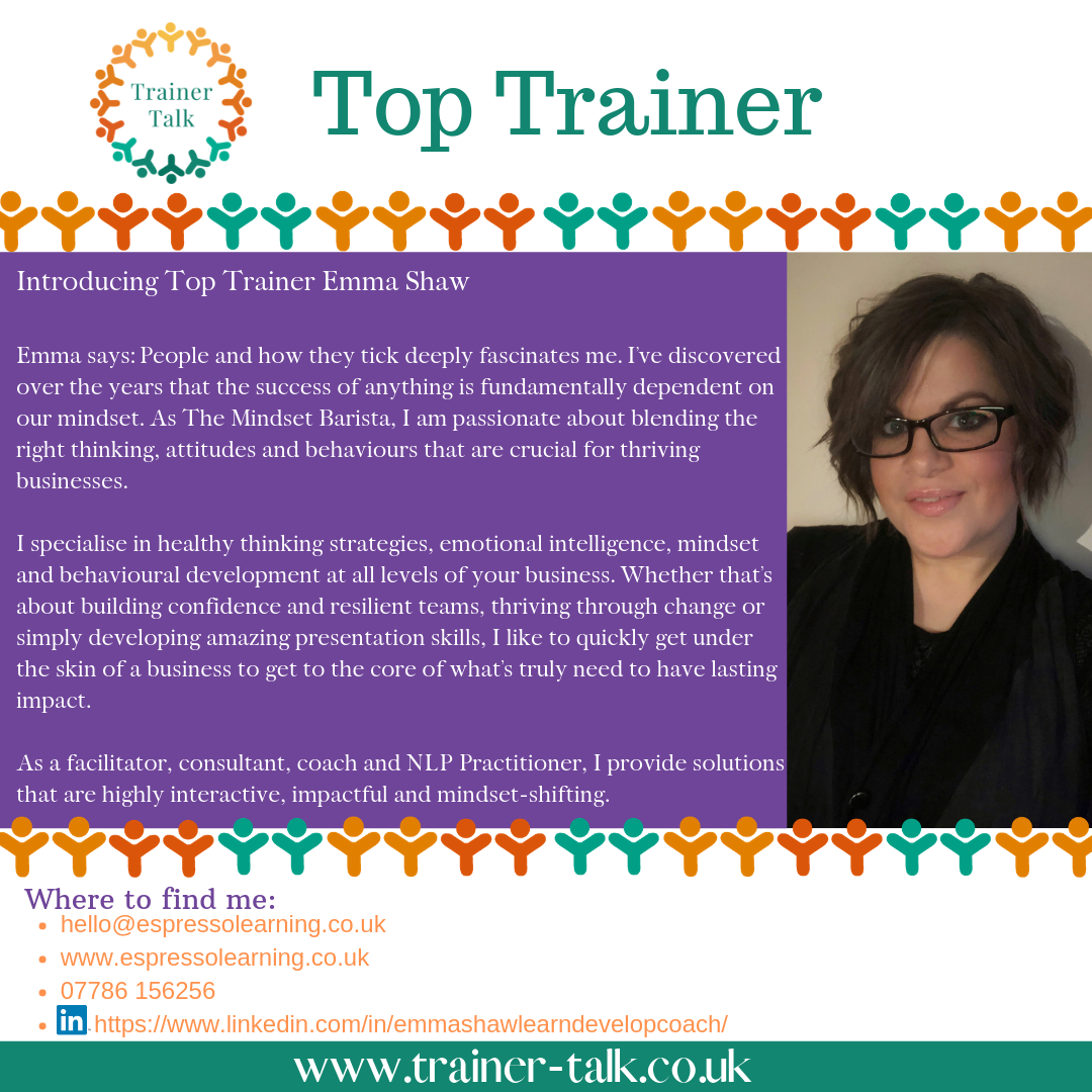 Top Trainer Emma Shaw
