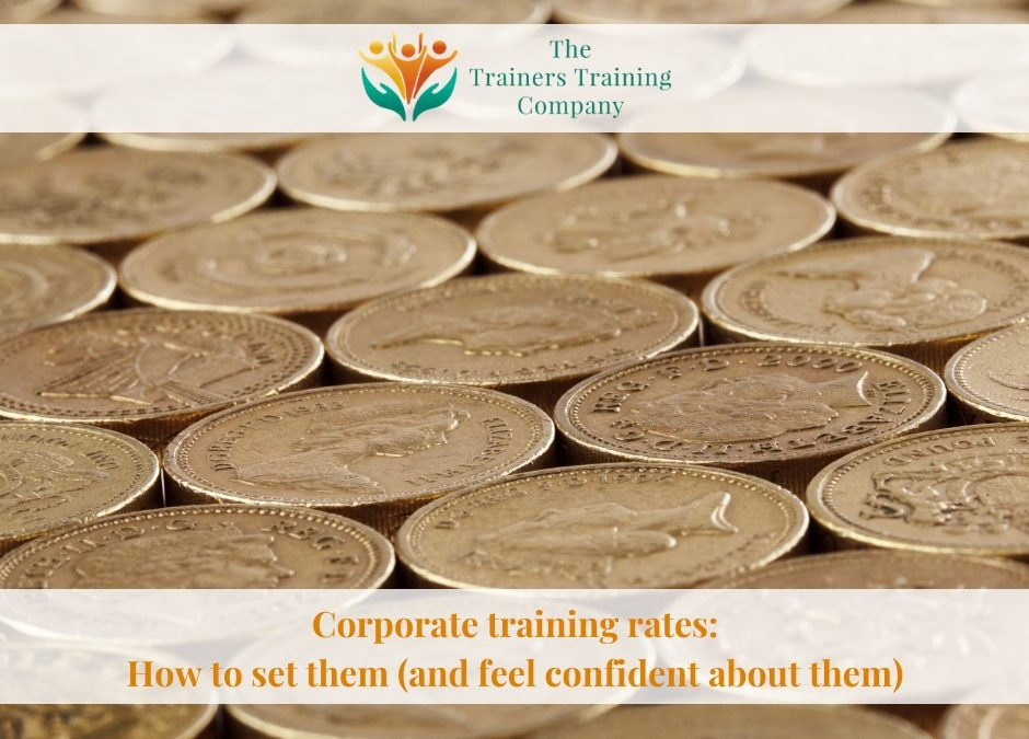 Corporate training rates: How to set them (and feel confident about them)