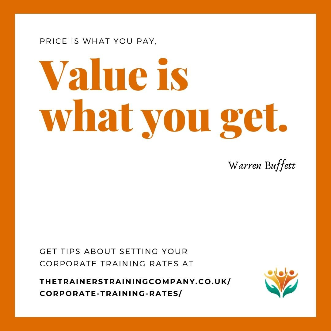 Price is what you pay. Value is what you get. Quote by Warren Buffett