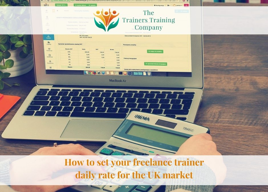 How to set your freelance trainer daily rate for the UK market