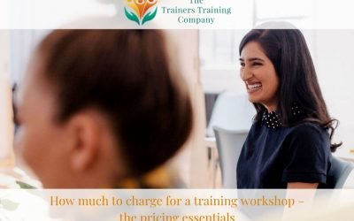How much to charge for a training workshop – the pricing essentials