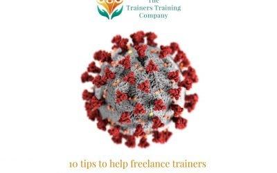 10 tips to help freelance trainers cope with the Coronavirus lockdown